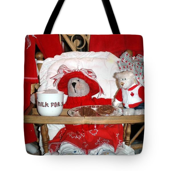 Christmas Delights Tote Bag by Kathleen Struckle