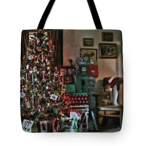 Christmas Tote Bag by Denise Romano