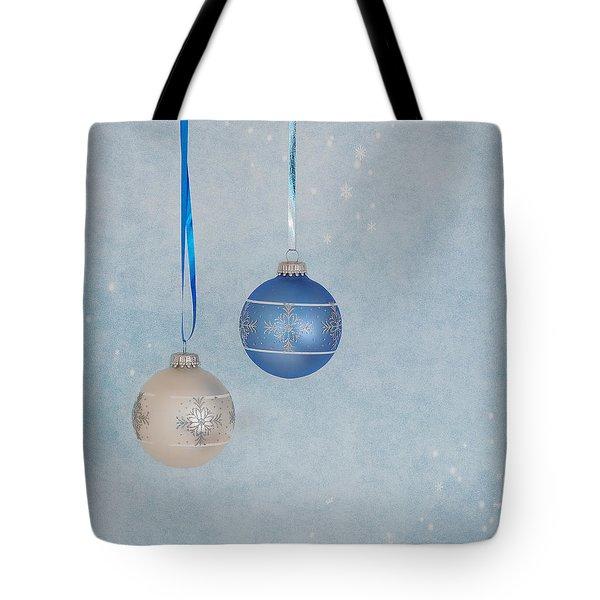 Christmas Elegance Tote Bag by Kim Hojnacki