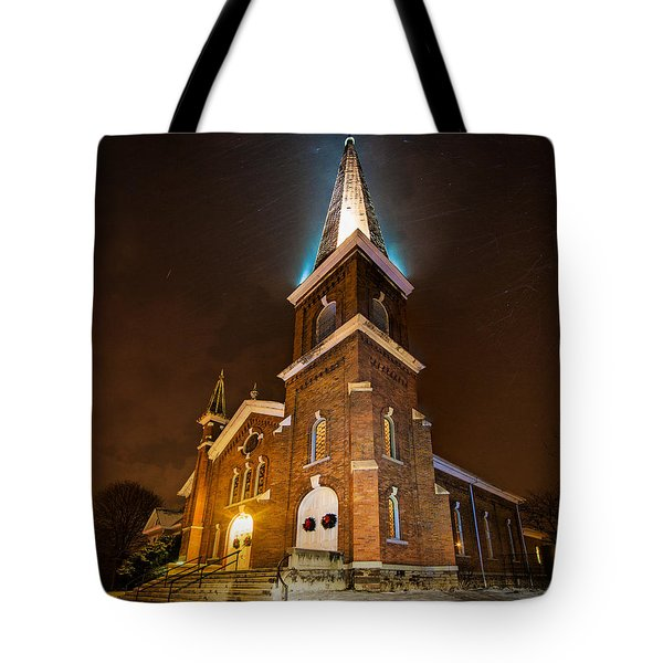 Christmas Eve Tote Bag by Everet Regal
