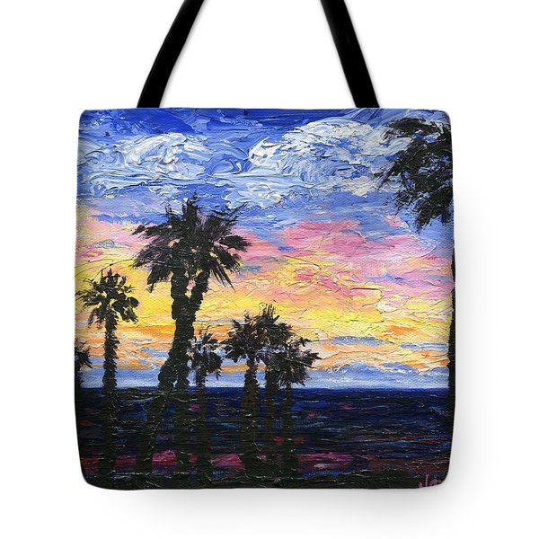 Christmas Eve In Redondo Beach Tote Bag by Jamie Frier
