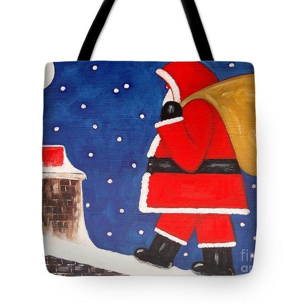 Christmas Eve Tote Bag by Patrick J Murphy