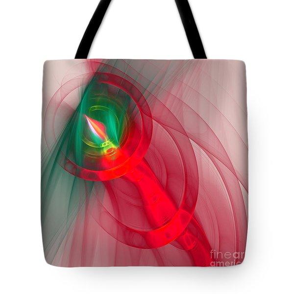 Christmas Flame Tote Bag