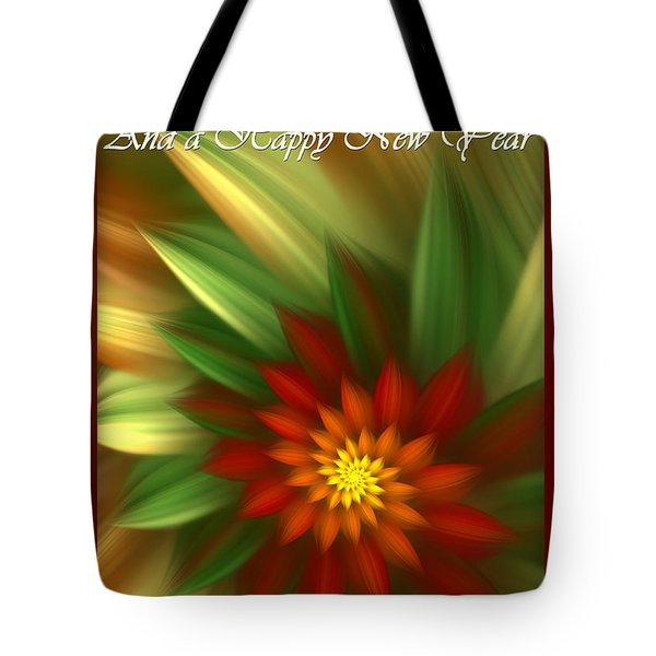 Christmas Flower Tote Bag by Svetlana Nikolova