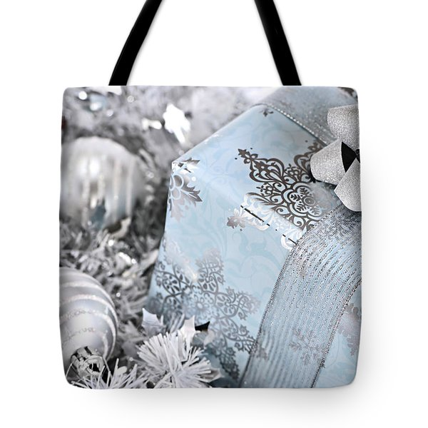 Christmas Gift Box And Decorations Tote Bag