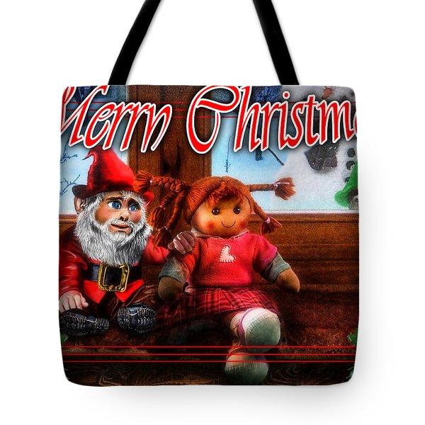 Christmas Greeting Card Vii Tote Bag