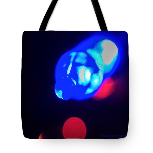 Christmas In Blue Tote Bag