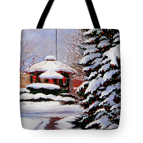 Christmas In Chagrin Falls Tote Bag