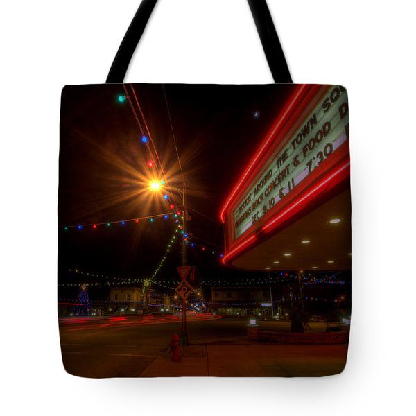 Christmas In Columbiana Ohio Tote Bag
