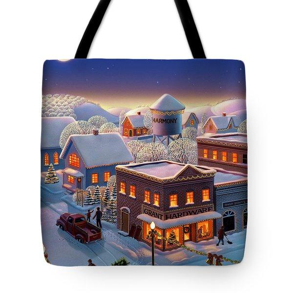 Christmas In Harmony Tote Bag