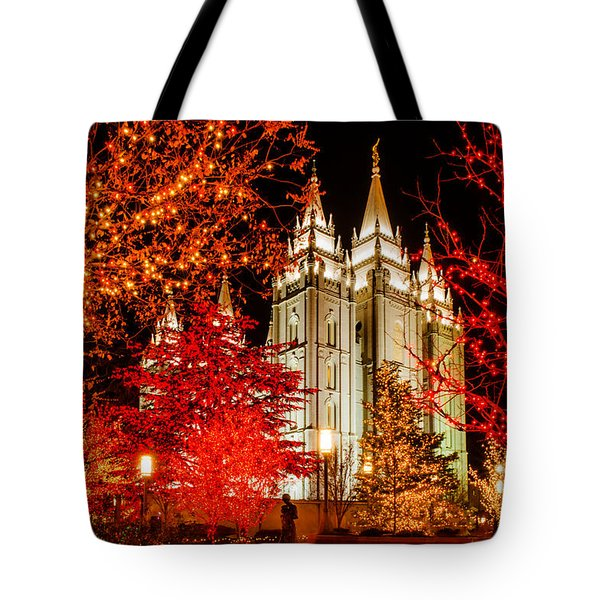 Christmas In Red Tote Bag