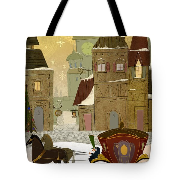 Christmas In The Old World Tote Bag