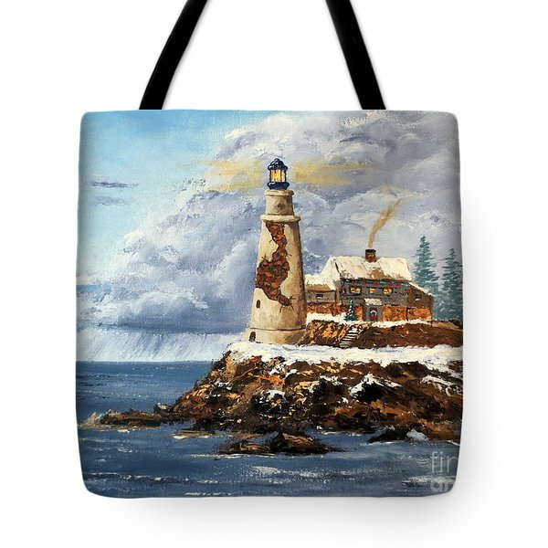 Christmas Island Tote Bag by Lee Piper