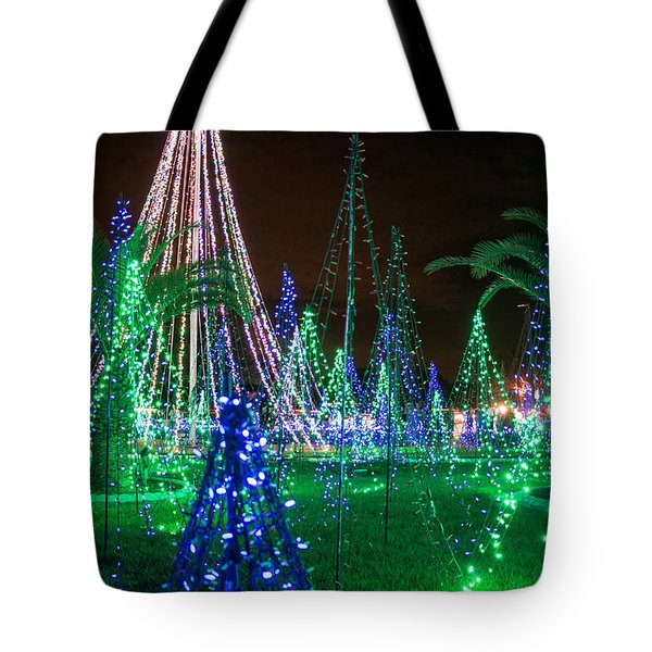 Christmas Lights 2 Tote Bag