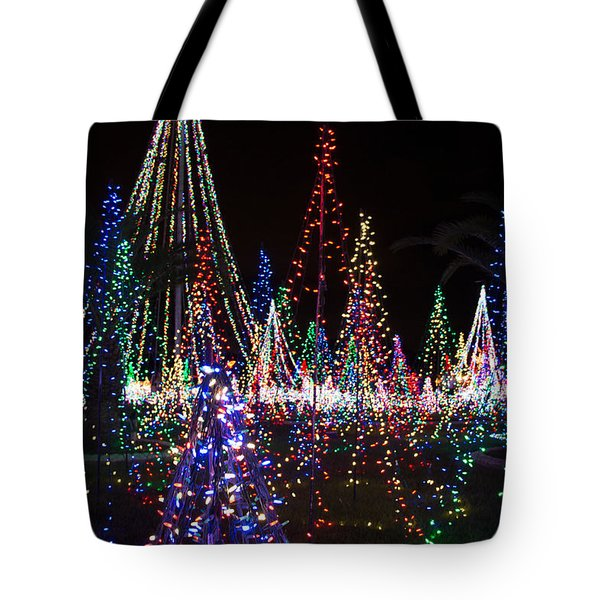 Christmas Lights 3 Tote Bag