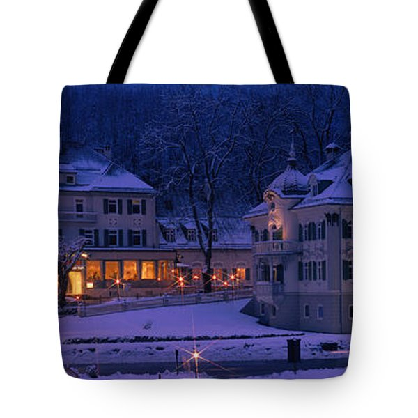Christmas Lights, Hohen-schwangau Tote Bag