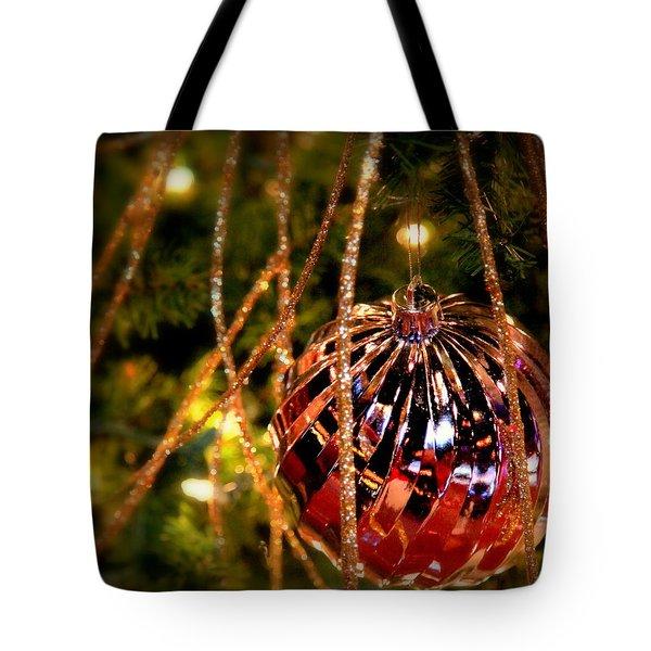 Christmas Magic Tote Bag by Karen Wiles