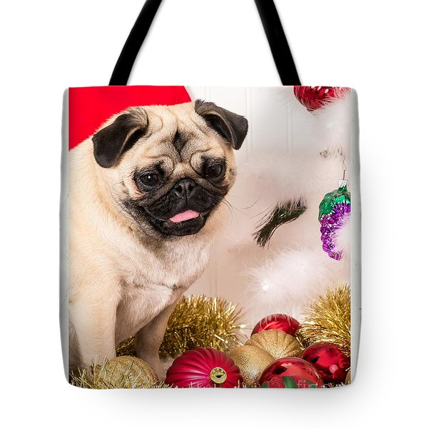 Christmas Morning Tote Bag by Edward Fielding