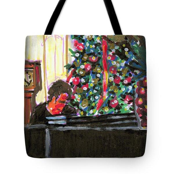 Christmas Mulberry Inn 2001 Tote Bag