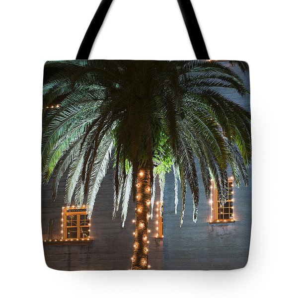 Christmas Palm Tote Bag by Kenneth Albin