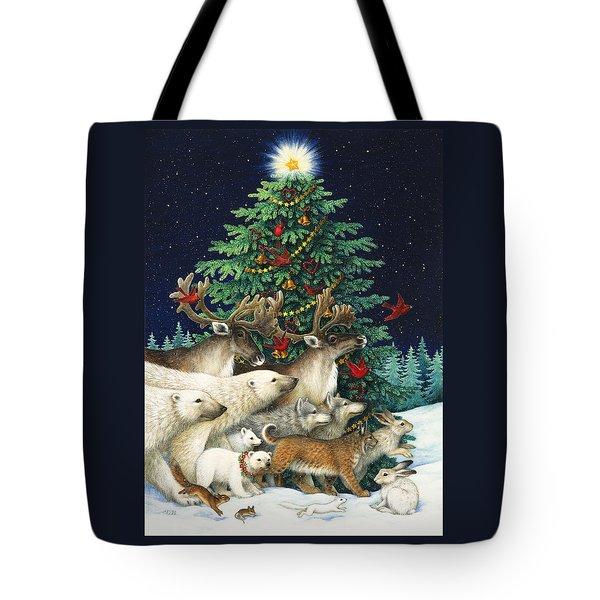 Christmas Parade Tote Bag