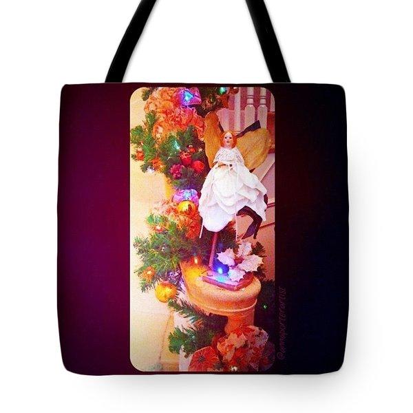 Christmas Past #christmas #decorations Tote Bag