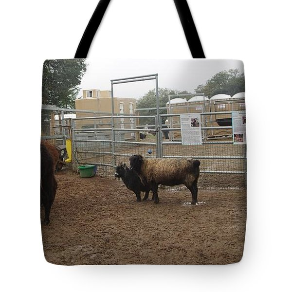 Christmas Petting Farm Tote Bag