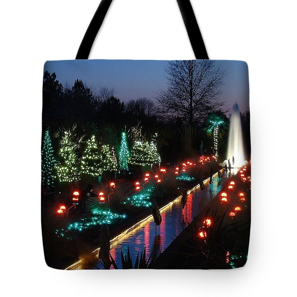 Christmas Reflections Tote Bag