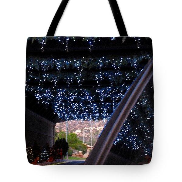 Christmas Road Decoration Tote Bag