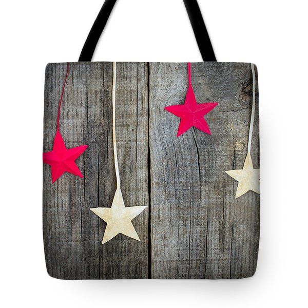 Christmas Star Decoration Tote Bag