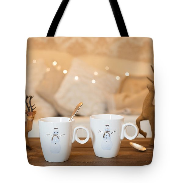 Christmas Teabreak Tote Bag