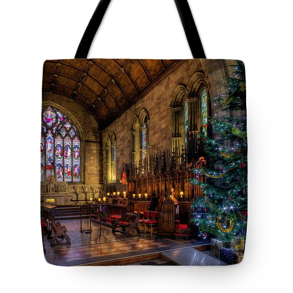 Tote Bag featuring the photograph Christmas Time by Adrian Evans