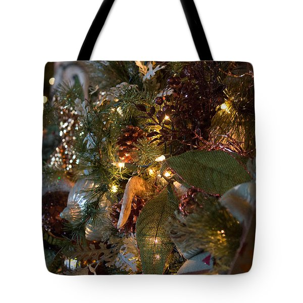 Christmas Tree Splendor Tote Bag by Patricia Babbitt