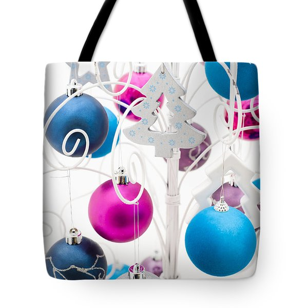 Christmas Tree Tree Tote Bag by Anne Gilbert