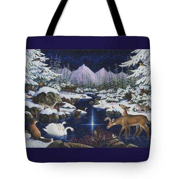 Christmas Wonder Tote Bag