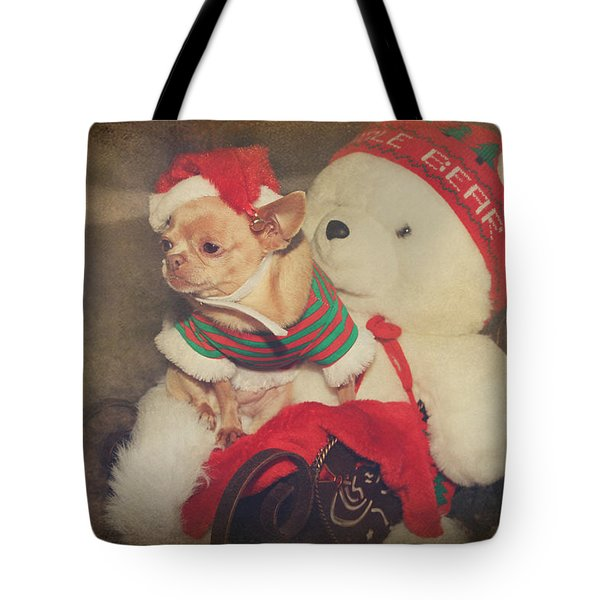 Christmas Zoe Tote Bag by Laurie Search