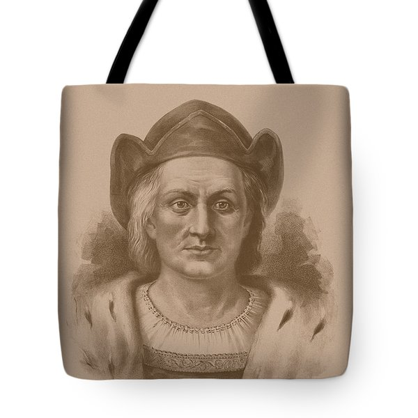 Christopher Columbus Tote Bag by War Is Hell Store