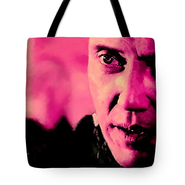 Christopher Walken @ Pulp Fiction Tote Bag
