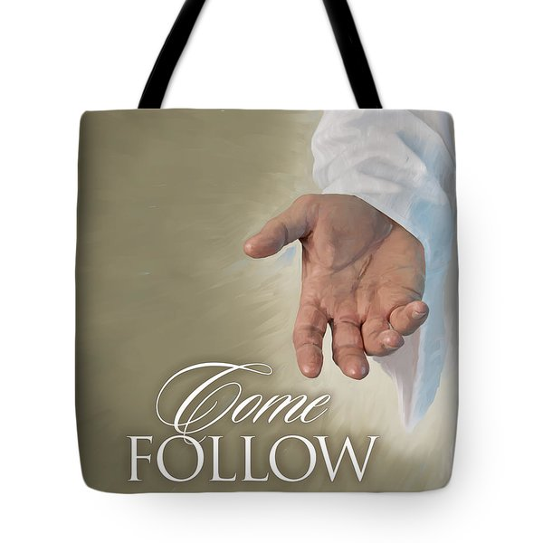 Christ's Hand Tote Bag by Rob Corsetti