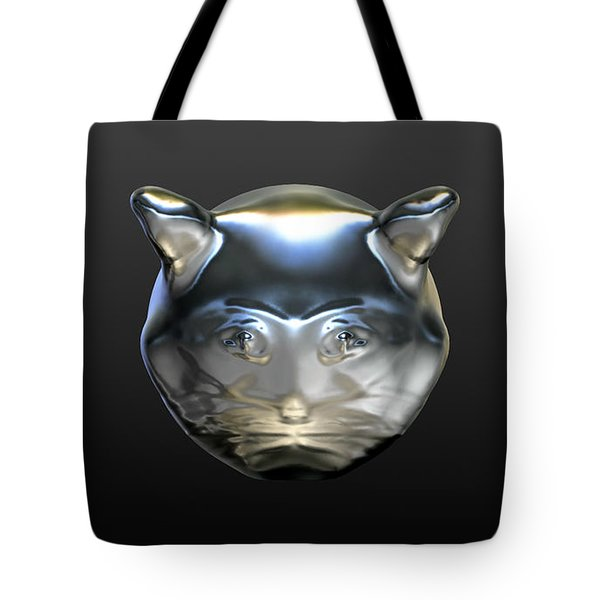 Chrome Cat Tote Bag