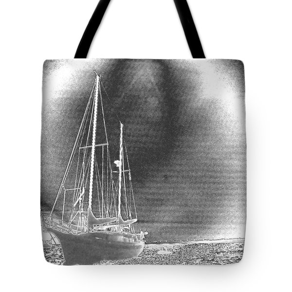 Chromed Sailboats In Key Largo Tote Bag