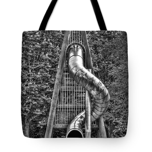 Chromium Slide Tote Bag