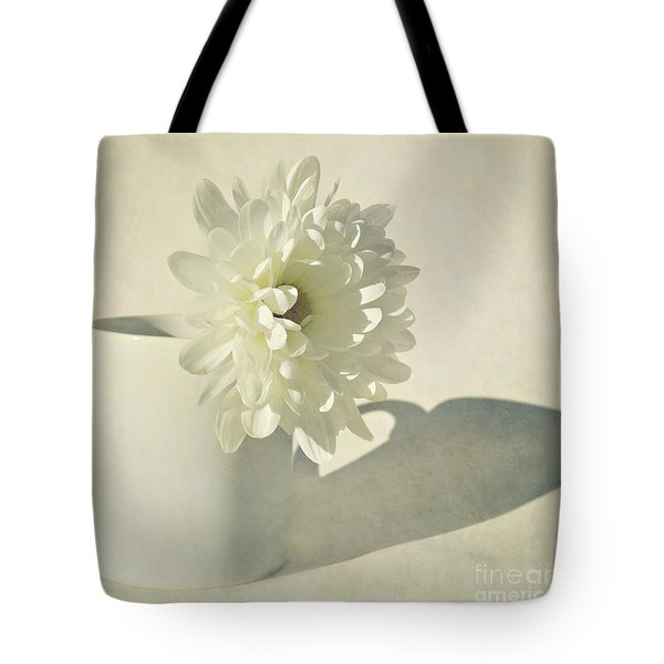 Chrysanthemum Shadow Tote Bag by Lyn Randle