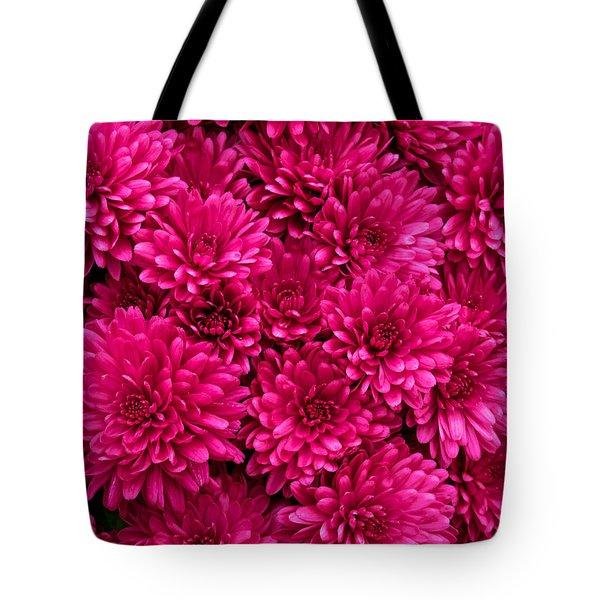 Chrysantheumums Tote Bag