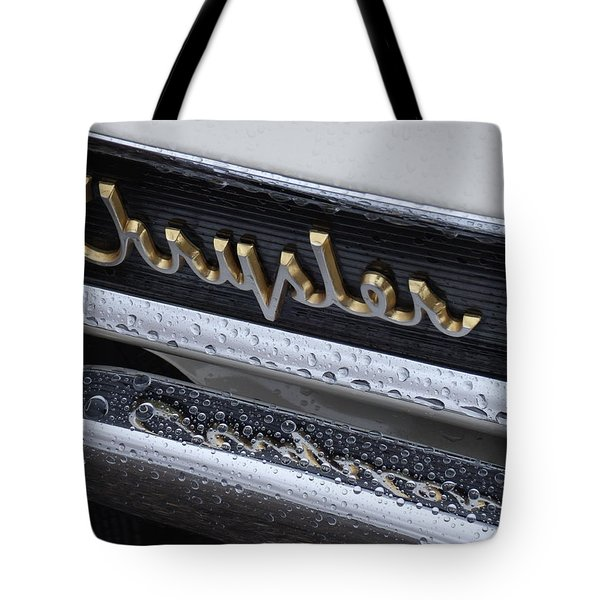 Chrysler Tote Bag by David S Reynolds