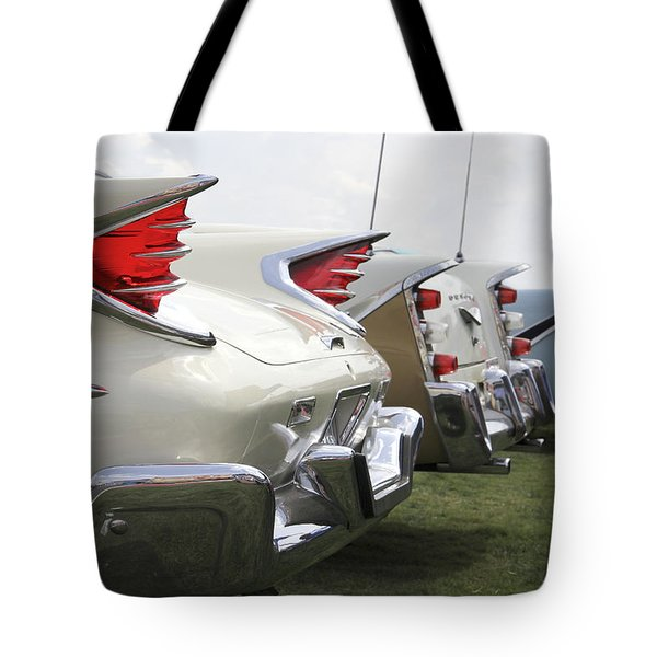 Chrysler Fins Tote Bag by Mike McGlothlen