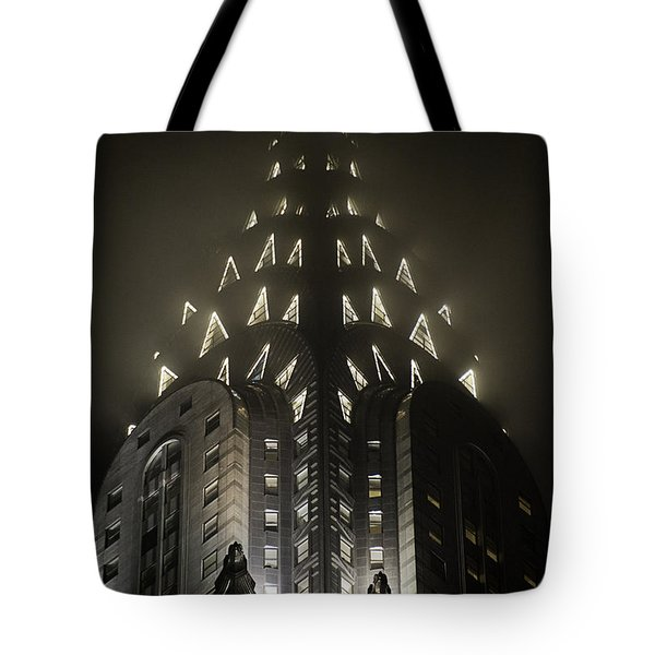 Chrysler Fog Lights Tote Bag