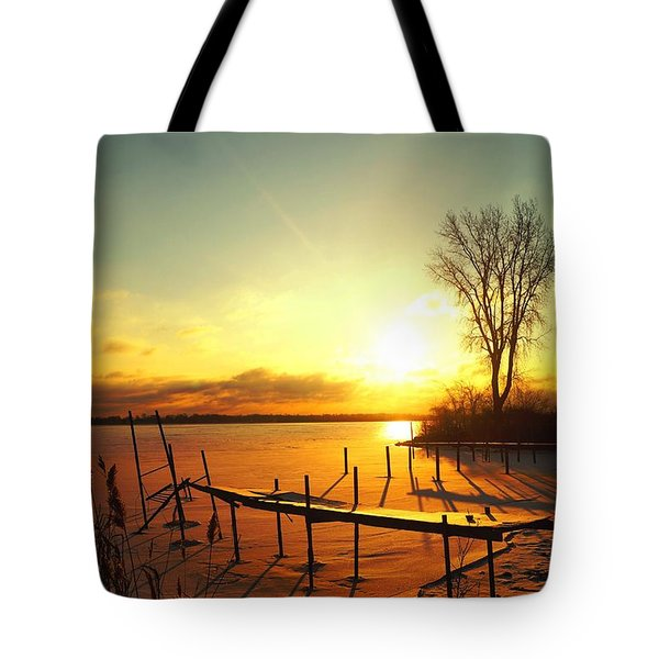 Chtistmas Dock 1 Tote Bag