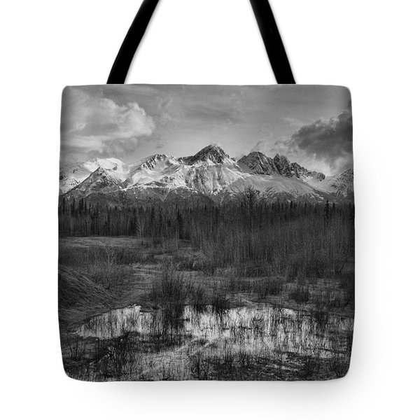 Chugach Mtn Range Tote Bag