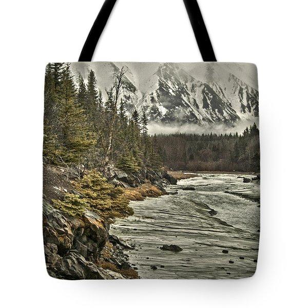 Chugach Range Tote Bag